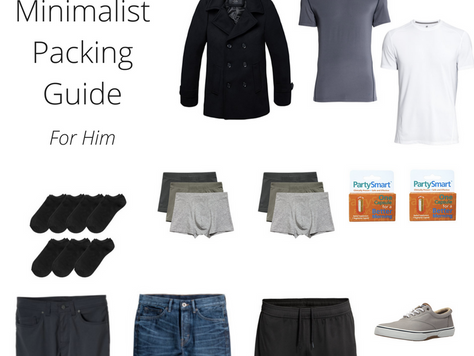 Minimalist Packing Guide For Him