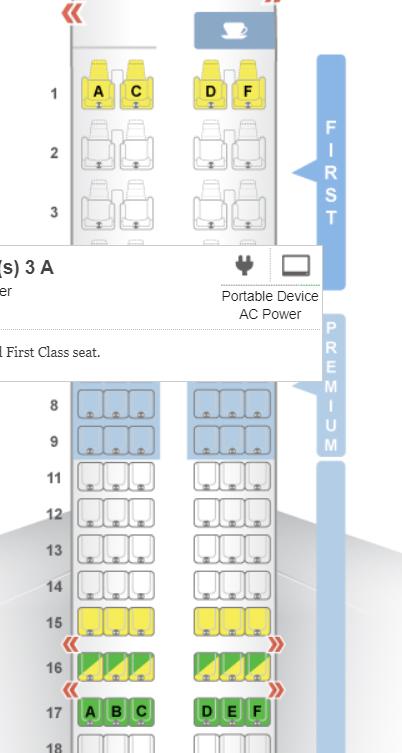 Seat Guru Alaska Best Seats in Coach