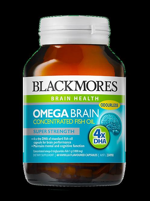 Omega Brain 60 Capsules
