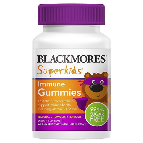 Superkids Immune 60 Gummies