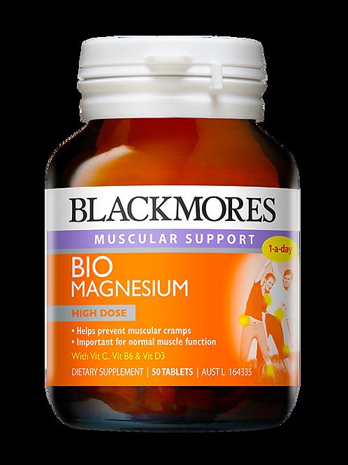 Bio Magnesium 50 Tablets