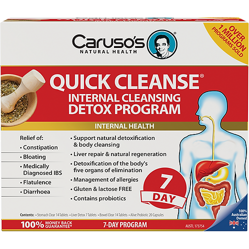 Quick Cleanse 7 Day Detox Program