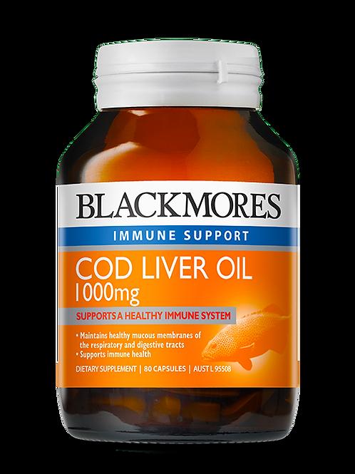 Cod Liver Oil 80 Tablets