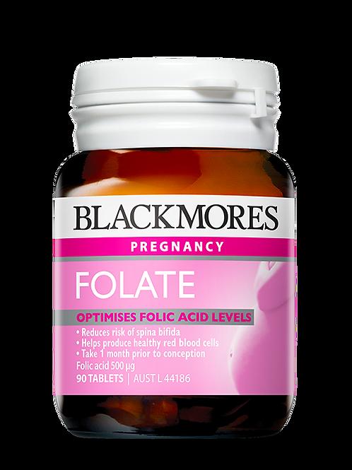 Folate 500mcg 90 Tablets