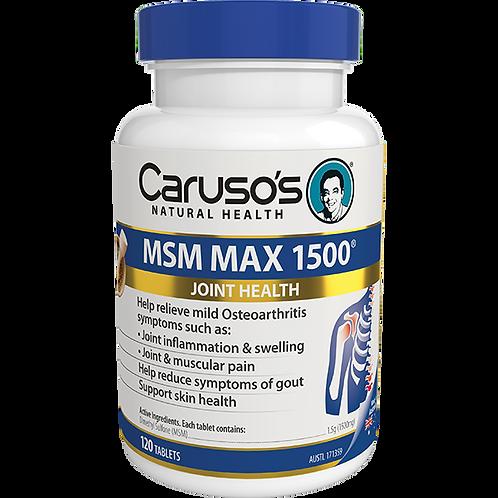 MSM Max 1500mg 120 Tabs