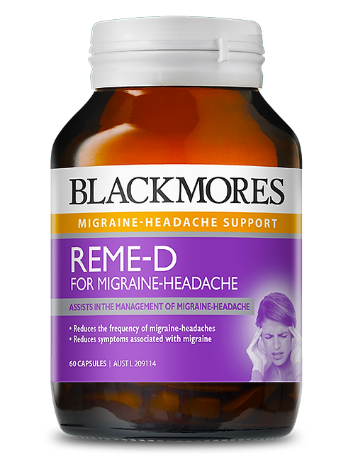 Reme-D Migraine 60 Tablets