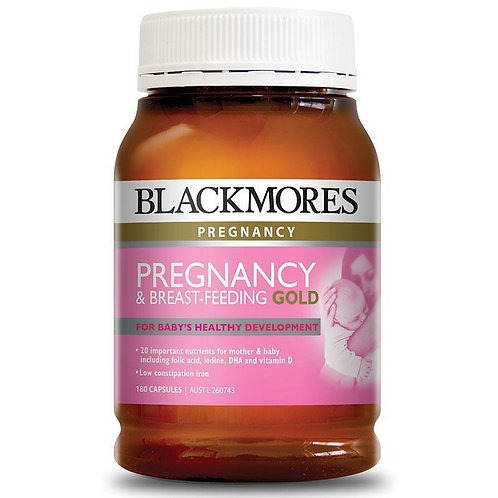 Pregnancy and Breastfeeding Gold 120 Capsules