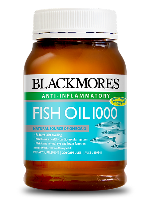 Fish Oil 1000 200 Capsules