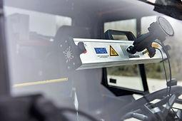 CabCleaner | UV-C-Lampe | UV-C-LED-System | Anwendung in Fahrzeugkabine