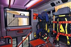 CabCleaner | UV-C-Lampe | UV-C-LED-System | Einsatz im Feuerwehrwagen