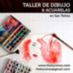 Taller Continuo de Dibujo y Acuarelasen San Telmo Mariano Lucano