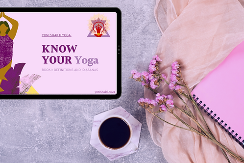 Know Your Yoga Book 1