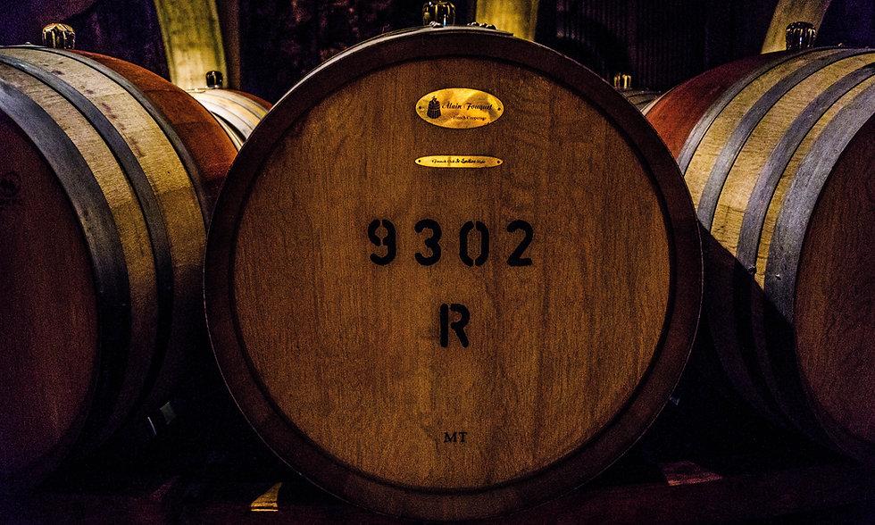 Barils de vin