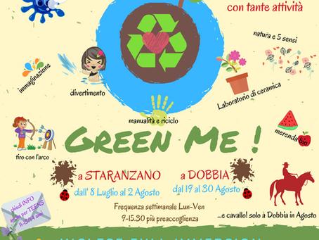 Green Me! centro estivo inglese  4-10 anni