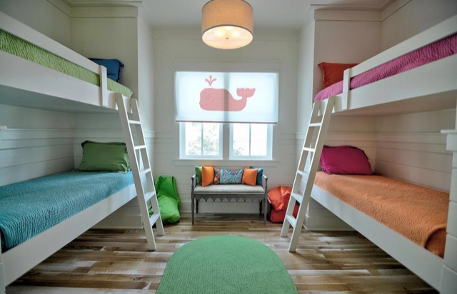 Kids bunk area