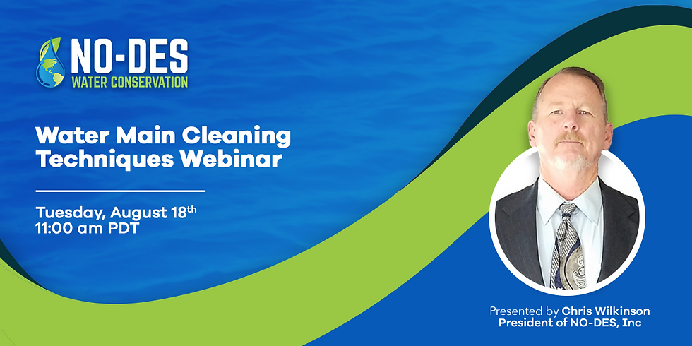 Water Main Cleaning Techniques Webinar