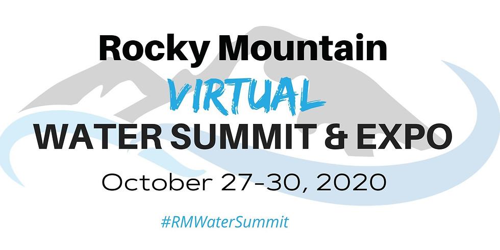 Rocky Mountain Virtual Water Summit & Expo