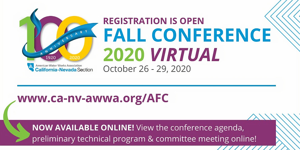 CA/NV AWWA Fall Conference
