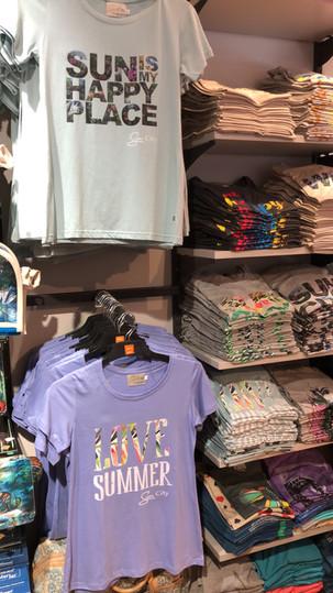 Shopping no Complexo de Sun City na África do Sul