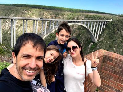 Ponte Bloukrans Bridge, maior bungee jump do mundo