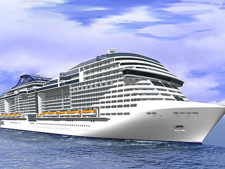 Conheça o Meraviglia, o novo navio da MSC Cruzeiros