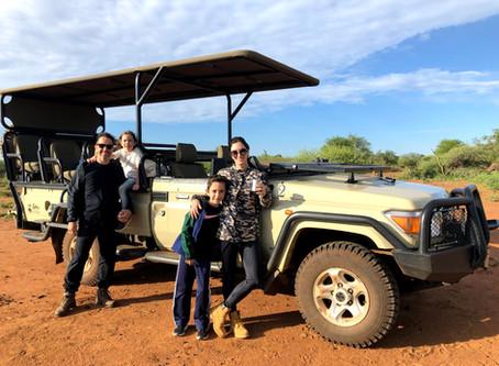África do Sul com crianças - Safári na reserva de Madikwe