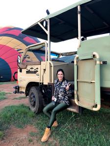 Safári de balão na Reserva de Pilansberg