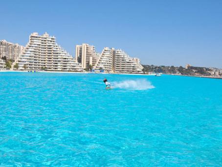 Este hotel no Chile tem a maior piscina do mundo
