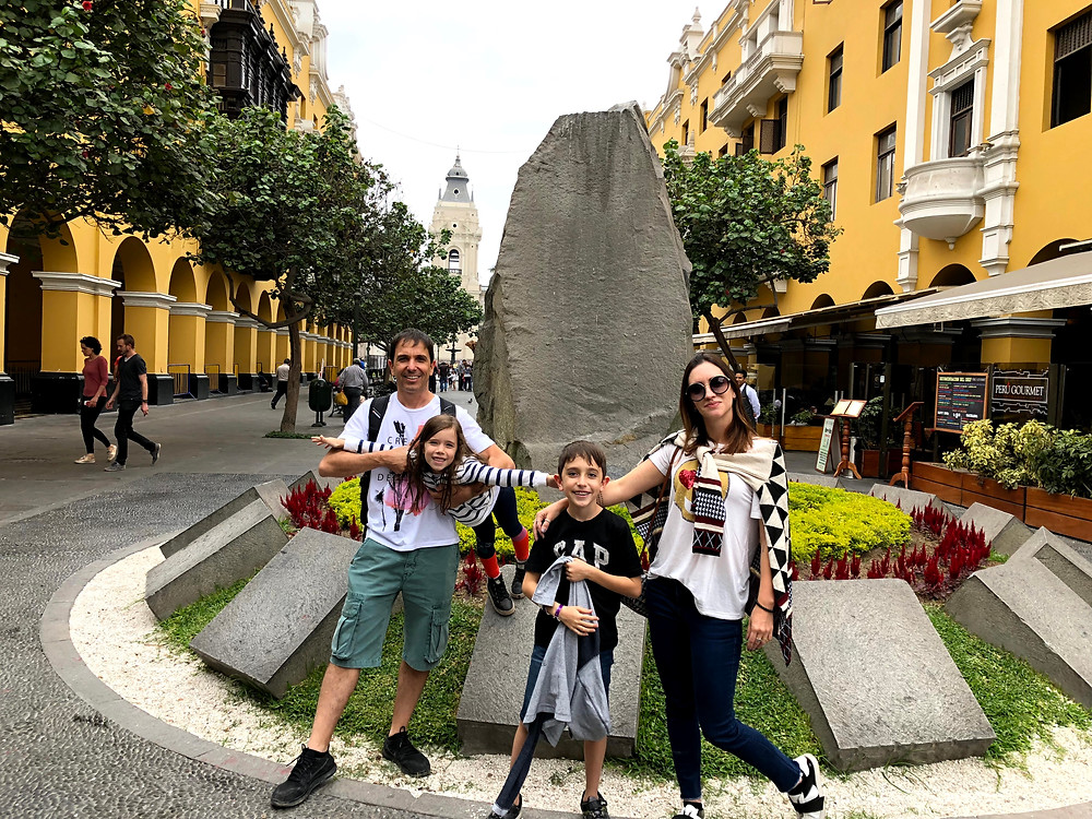 Centro Histórico em Lima, Peru