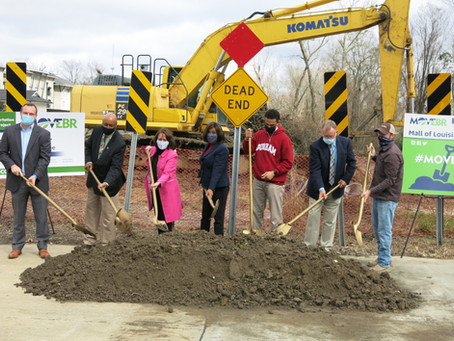 Mayor Broome Thanks Program Management Team at MOVEBR Groundbreaking