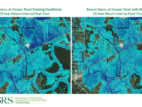 CSRS Completed Central, La.'s First-Ever Master Drainage Plan Through Use of H&H Modeling