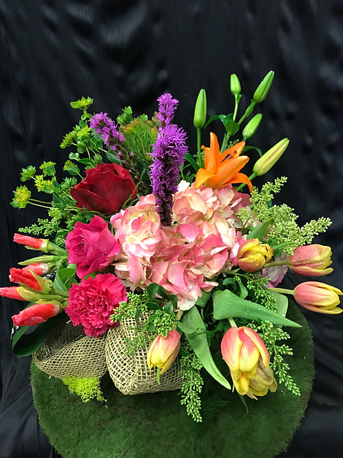 Mid Vase Arrangement