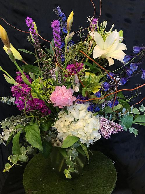 Tall Vase Arrangement