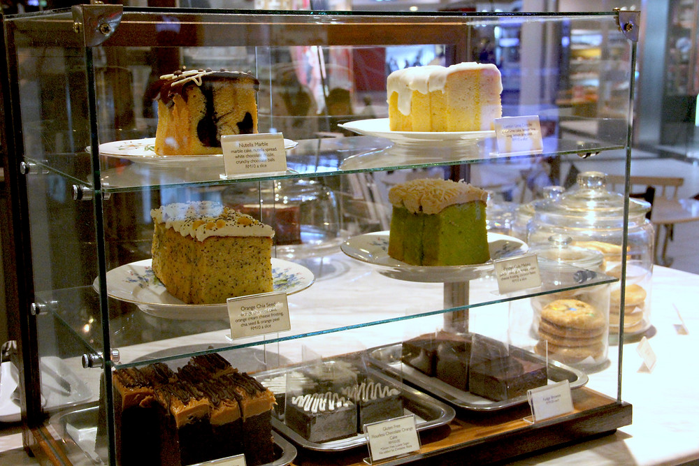 Variety type of cakes