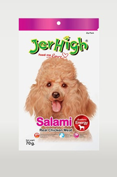 Jerhigh Salami Real Chicken Meat Dog Treat 70 g