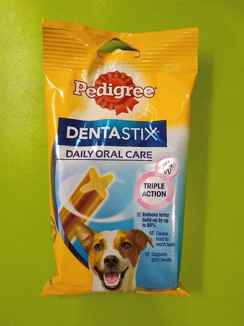 PEDIGREE Dentastix Daily Oral Care Triple Action SMALL (7 Sticks) 110g