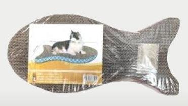 Fish Shaped Cat Cardboard Scratcher