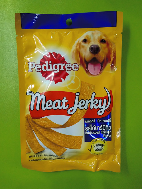 Pedigree Meat Jerky Dog Treats - Barbeque Chicken - 80g Pouch