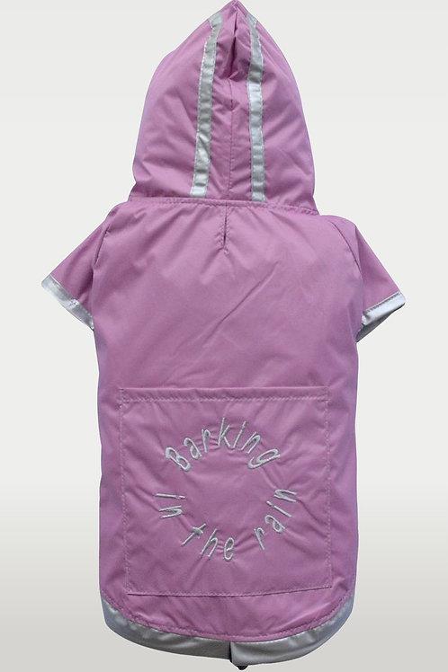 DoggyDolly Rain Jacket Pink (Medium)