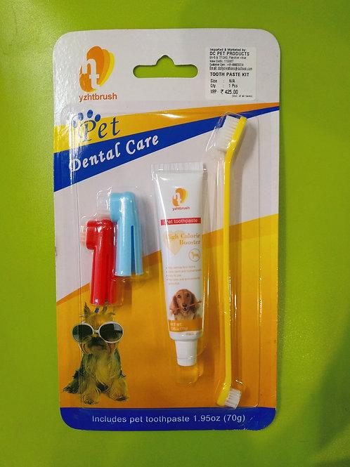 Pet Dental Care 4 in 1 Kit