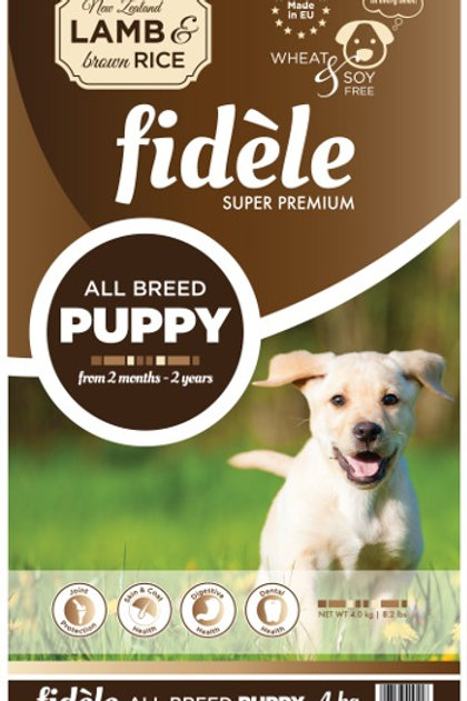Fidele Puppy Lamb & Rice 1 kg
