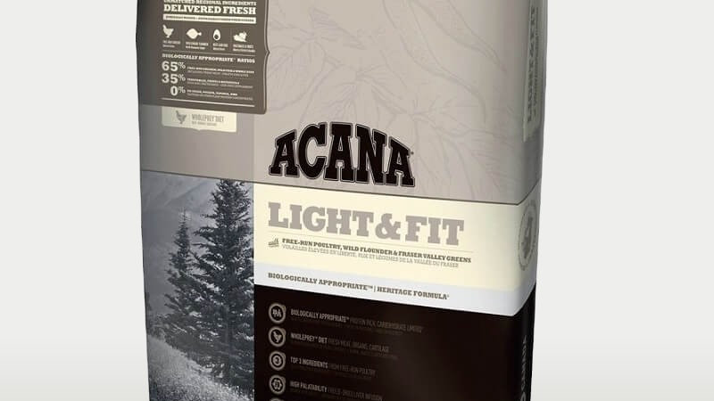 Acana Light & Fit 340gms