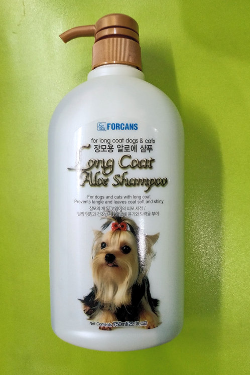 Forcans Long Coat Aloe Shampoo