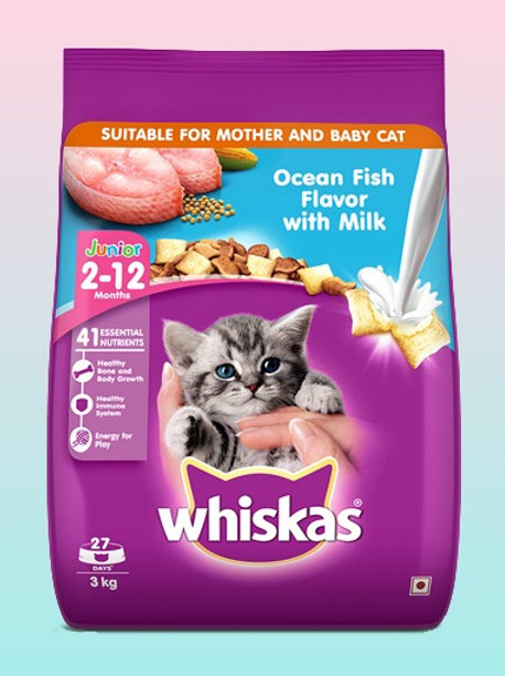 Whiskas Junior Ocean Fish 3kg