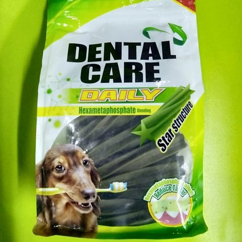 Dogaholic Dental Care Daily  Sticks Large (400) Hexametaphate Blending