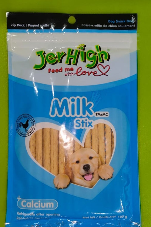JerHigh Calcium Milk Stix Dog Treat 100g