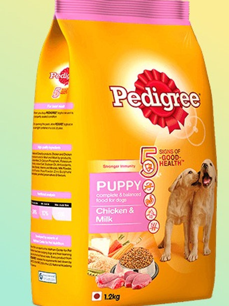 Pedigree Puppy Chicken & Milk Dog Food 1.2 kg