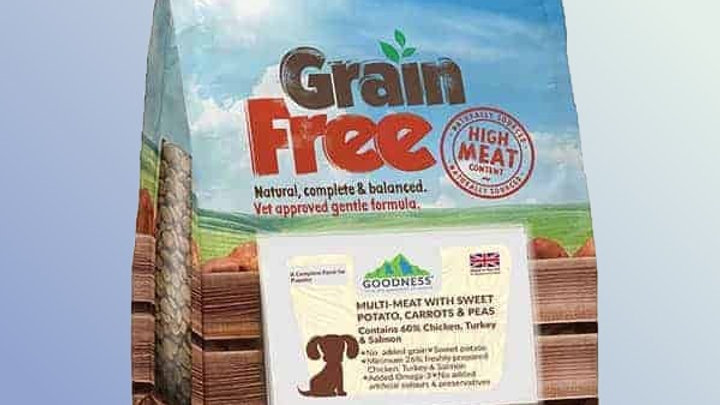 Goodness Multi Meat Puppy With Sweet Potato Carrots & Peas Grain Free 2 kg