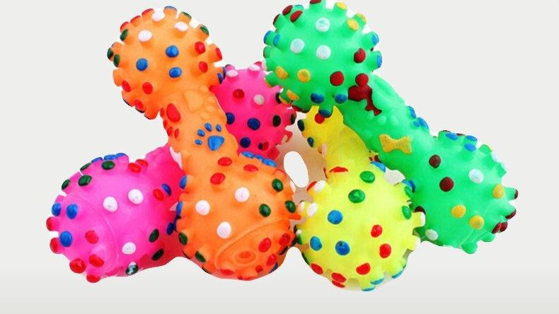 Plastic Ball Dumbbell Toy B