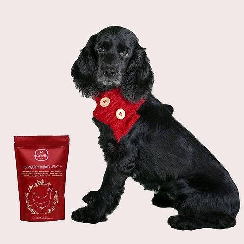 Doggie Dabbas Cranberry Chicken Jerky Dog Treat 85 gms